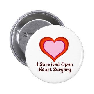 Sobreviví cirugía de corazón abierta pins