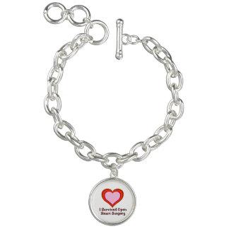 Sobreviví cirugía de corazón abierta pulseras