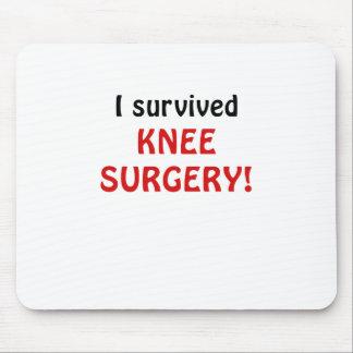 Sobreviví cirugía de la rodilla alfombrilla de ratones
