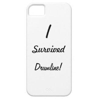 ¡Sobreviví drumline! Funda Para iPhone 5 Barely There