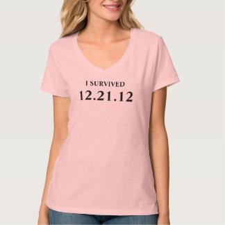 SOBREVIVÍ el 21 de diciembre de 2012 Remera