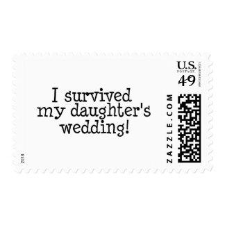 Sobreviví el boda de mi hija sello