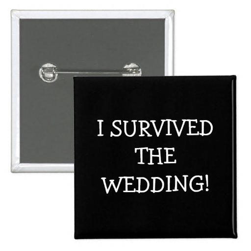 Sobreviví el boda pins