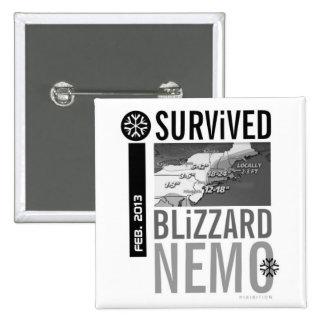 Sobreviví el botón 10 de Nemo de la ventisca Pins