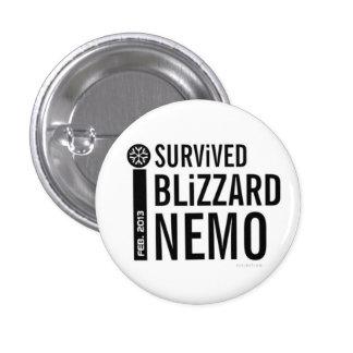 Sobreviví el botón 11 de Nemo de la ventisca Pins