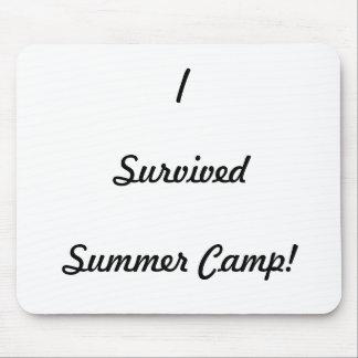 ¡Sobreviví el campamento de verano! Tapetes De Raton