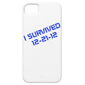 Sobreviví el caso que llevaba del iPhone 12-21-12 iPhone 5 Case-Mate Carcasas