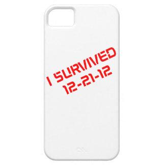 Sobreviví el caso que llevaba del iPhone 12-21-12 iPhone 5 Funda