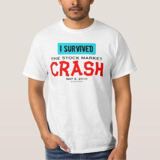Sobreviví el colapso de la bolsa la camiseta 2 del polera
