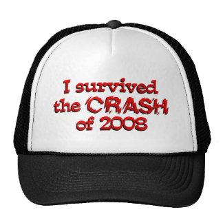 Sobreviví el desplome de '08 gorras de camionero