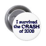 Sobreviví el desplome de 2008 pin
