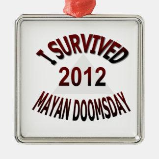 Sobreviví el día del juicio final maya 2012 adornos
