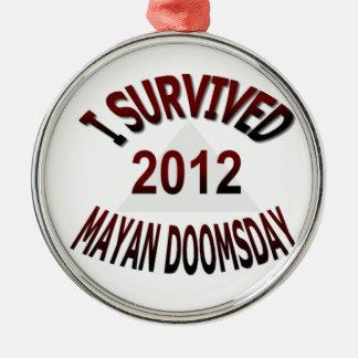 Sobreviví el día del juicio final maya 2012 ornamento de reyes magos