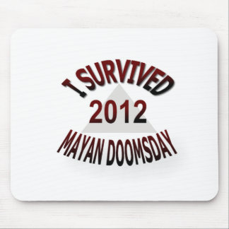 Sobreviví el día del juicio final maya 2012 tapete de raton