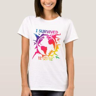 """""""Sobreviví"""" el extremo 12-21-12 de la camisa del"""