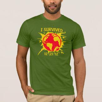 """""""Sobreviví"""" el extremo 12-21-12 de la camiseta del"""