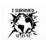 """""""Sobreviví"""" el extremo 12-21-12 del mundo Postal"""
