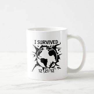 """""""Sobreviví"""" el extremo 12-21-12 del mundo Taza"""