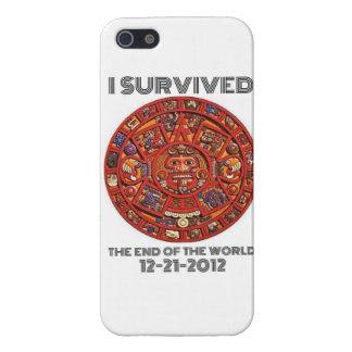 Sobreviví el extremo del mundo 12-21-2012 iPhone 5 carcasa