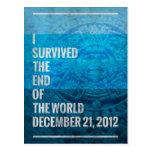 Sobreviví el extremo del mundo postales
