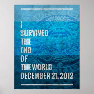 Sobreviví el extremo del mundo póster