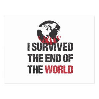 Sobreviví el extremo del mundo postal