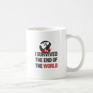 Sobreviví el extremo del mundo taza