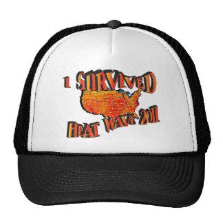 Sobreviví el gorra 2011 de la ola   de calor