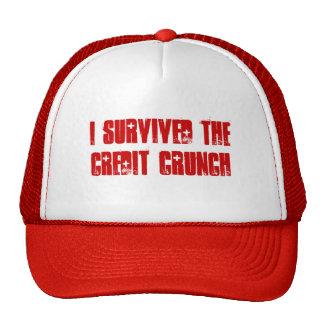 Sobreviví el gorra de la contracción del crédito