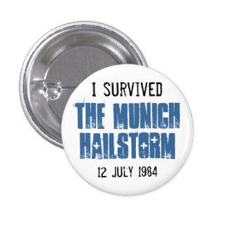 Sobreviví el Hailstorm de Munich Pins