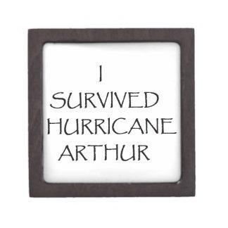 Sobreviví el huracán Arturo Caja De Recuerdo De Calidad