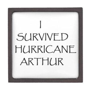 Sobreviví el huracán Arturo Caja De Joyas De Calidad