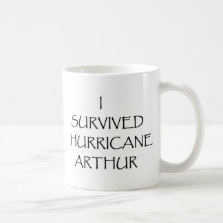 Sobreviví el huracán Arturo Taza Básica Blanca