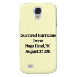 Sobreviví el huracán Irene NC Funda Para Galaxy S4