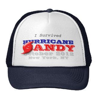 Sobreviví el huracán Sandy Gorro