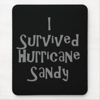 Sobreviví el huracán Sandy Gray.png Alfombrillas De Ratón