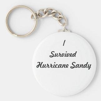 ¡Sobreviví el huracán Sandy! Llaveros Personalizados