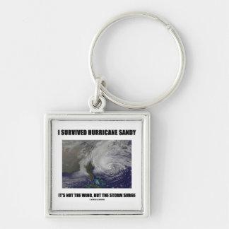 Sobreviví el huracán Sandy que no es el viento per Llaveros Personalizados
