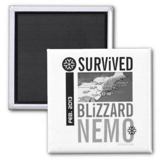 Sobreviví el imán 2013 de Nemo de la ventisca 10