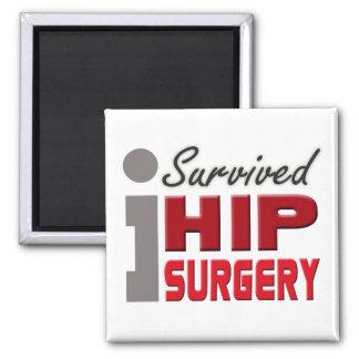 Sobreviví el imán de la cirugía de la cadera