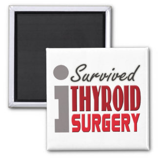 Sobreviví el imán de la cirugía de la tiroides