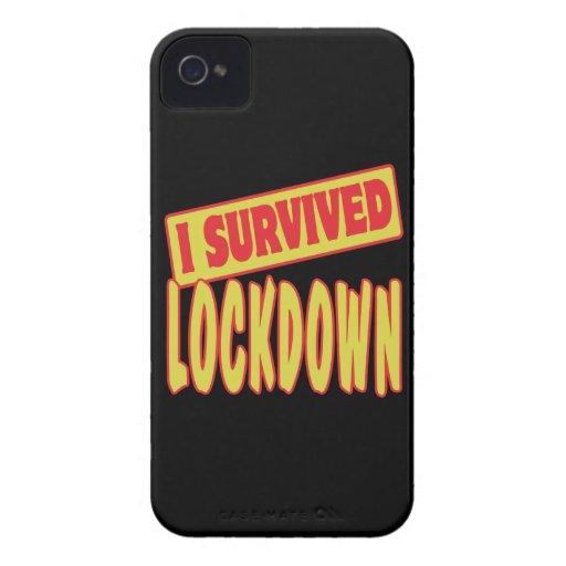 SOBREVIVÍ EL LOCKDOWN iPhone 4 Case-Mate FUNDA