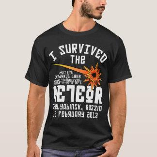 Sobreviví el meteorito ruso playera
