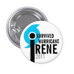 Sobreviví el ojo del botón de Irene 2011 del hurac Pins