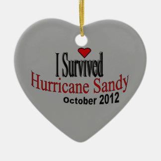 Sobreviví el ornamento de Sandy del huracán Ornamentos De Reyes