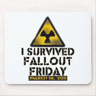Sobreviví el polvillo radiactivo viernes - 03.18.1 tapete de ratones