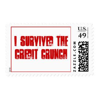 Sobreviví el sistema de la contracción del crédito franqueo
