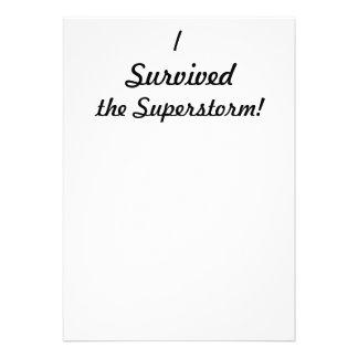 ¡Sobreviví el superstorm Anuncios Personalizados