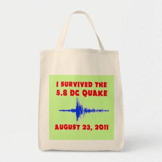 ¡Sobreviví el temblor de 5,8 DC! Camisetas y regal Bolsa