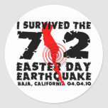 Sobreviví el terremoto del día de 7,2 Pascua Etiquetas